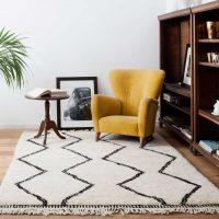 shaggy-tapijten-marokkaanse-berber-ontwerp
