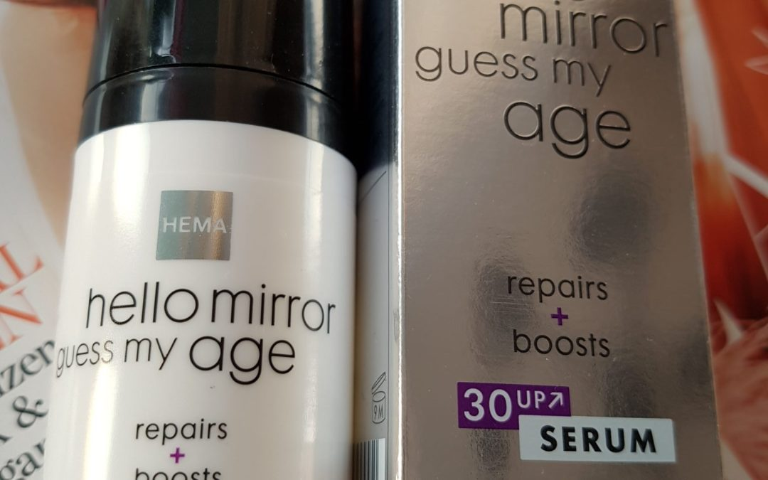 "Zen Saturday: Review Hema ""Hello mirror guess my age"" serum"