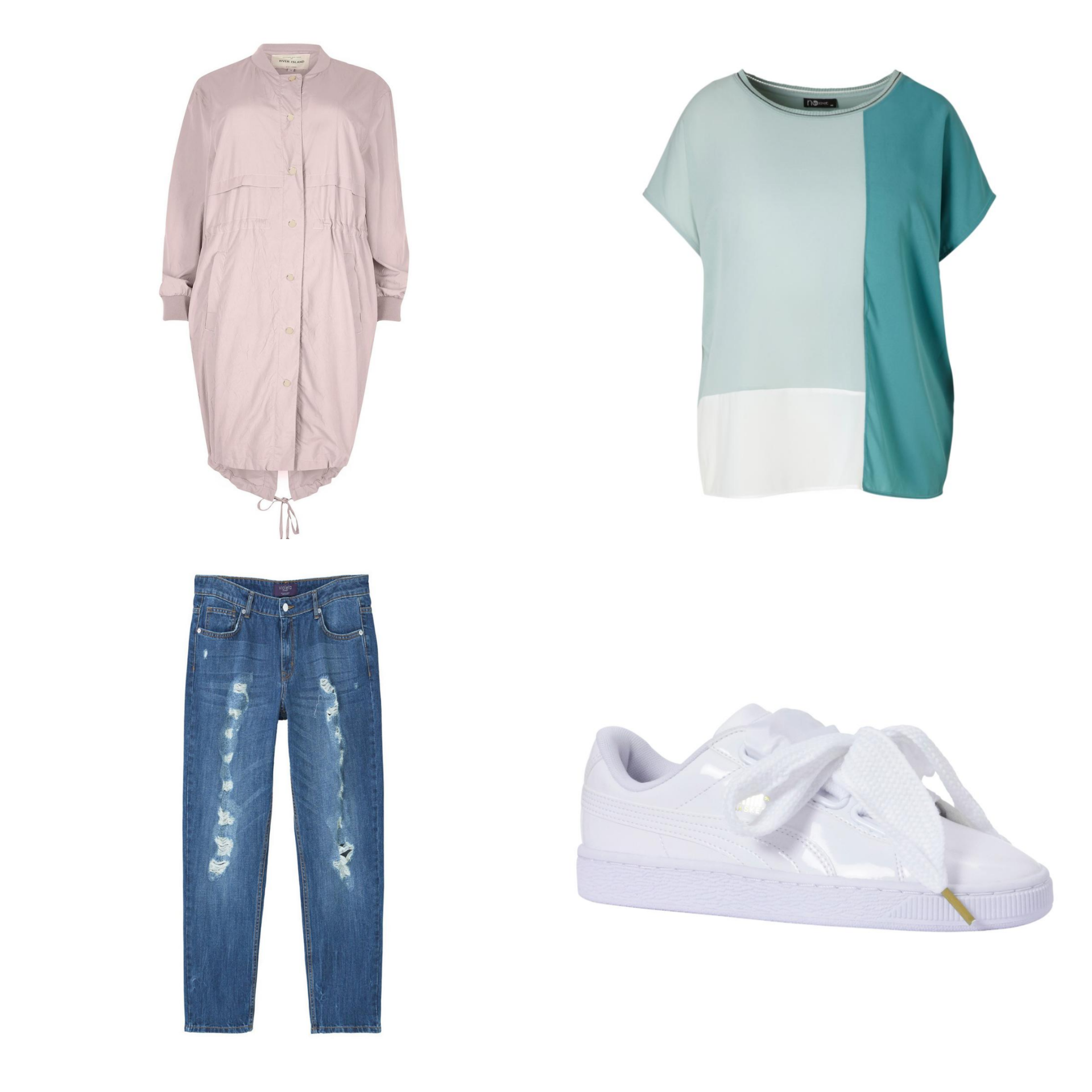 Plus Size Fashion Friday: Casual Spring Outfits