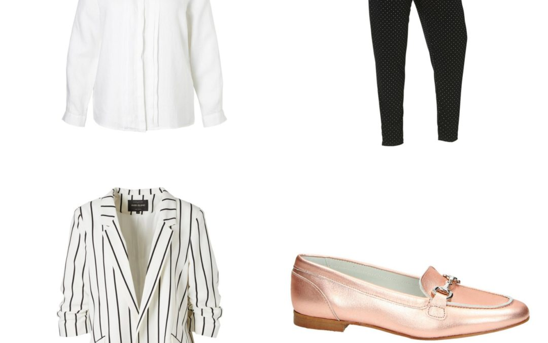 "Plus Size Fashion Friday: Voorjaarstrend ""witte blouse"""
