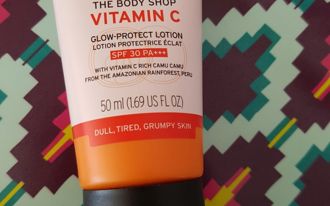 Zen Saturday: Review The Body Shop Vitamin C Glow Protect-Lotion