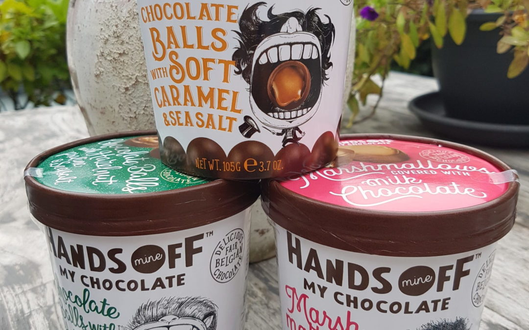 Review Hands Off My Chocolate chocolade bekers