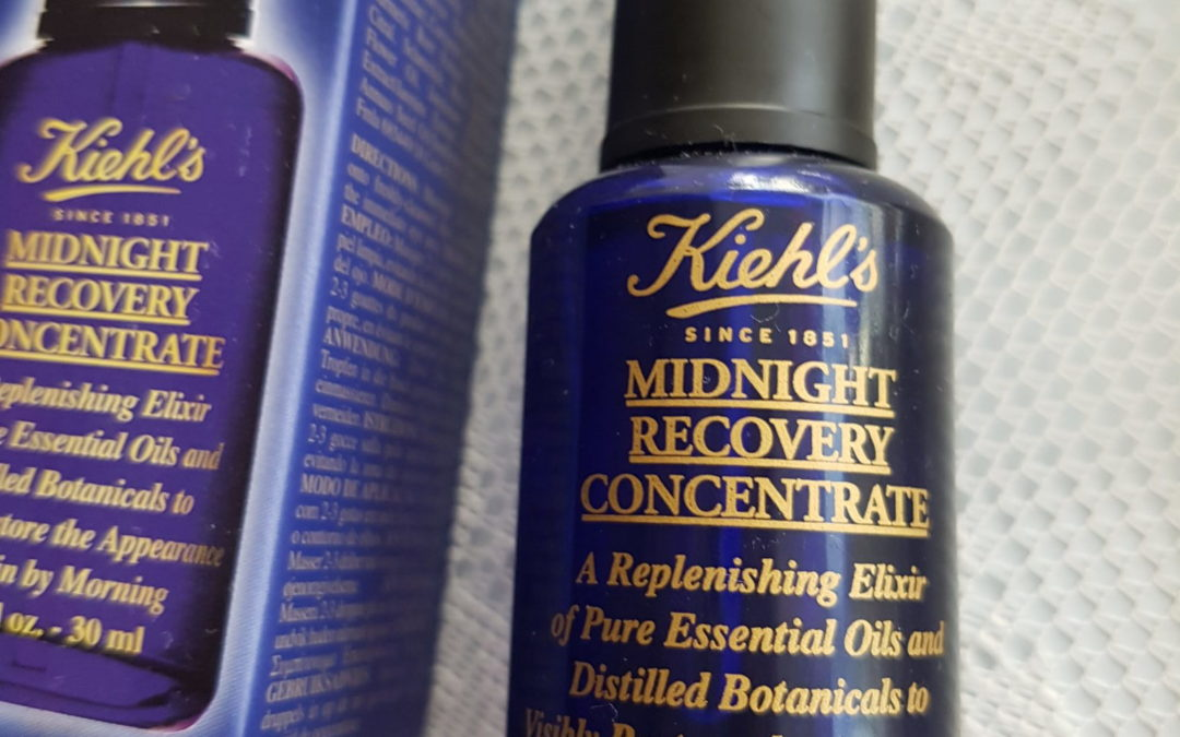 Skincare: Kiehl's Midnight Recovery Concentrate