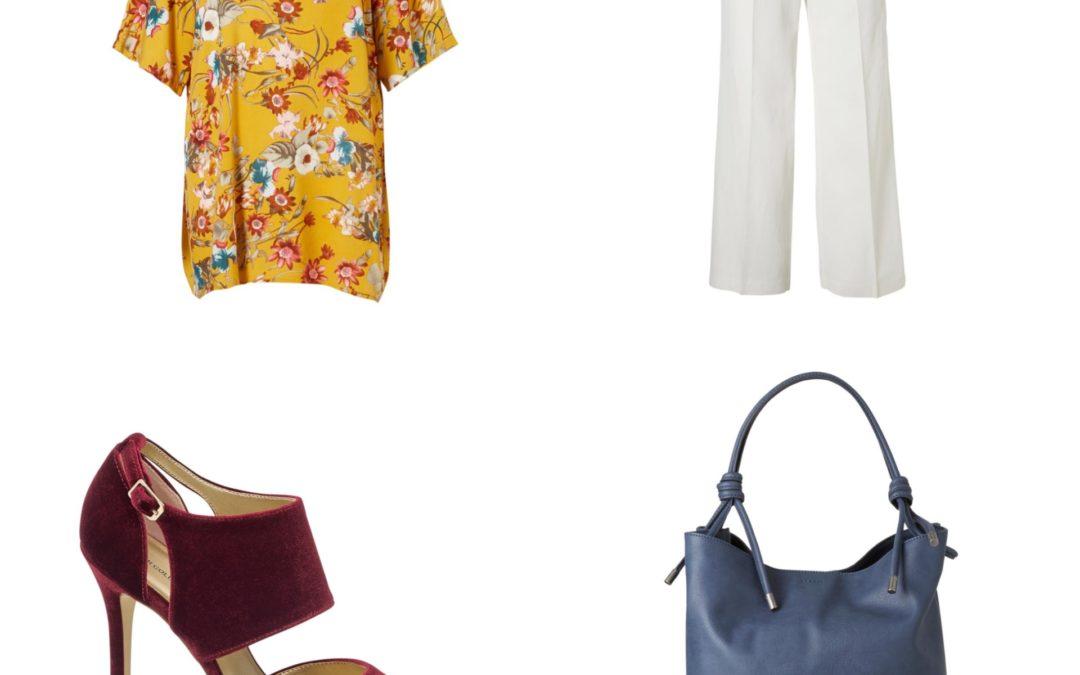 Plus Size Fashion Friday: Sunny prints