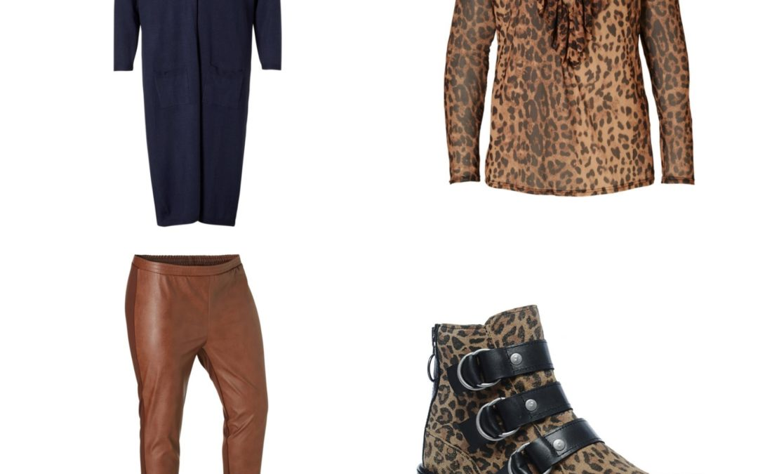 Plus Size Fashion Friday: Fall Trends // Animal print