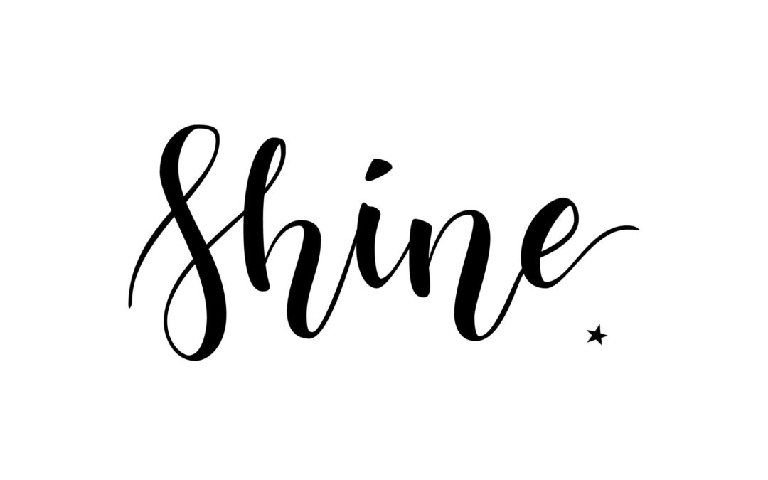 One little word 2018: Shine