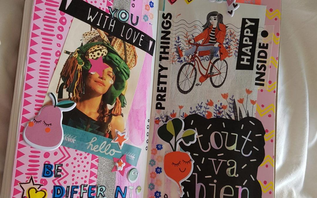 Budget DIY: Hema Midori Art Journal Pagina