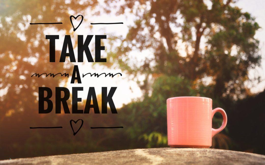 Taking a break day