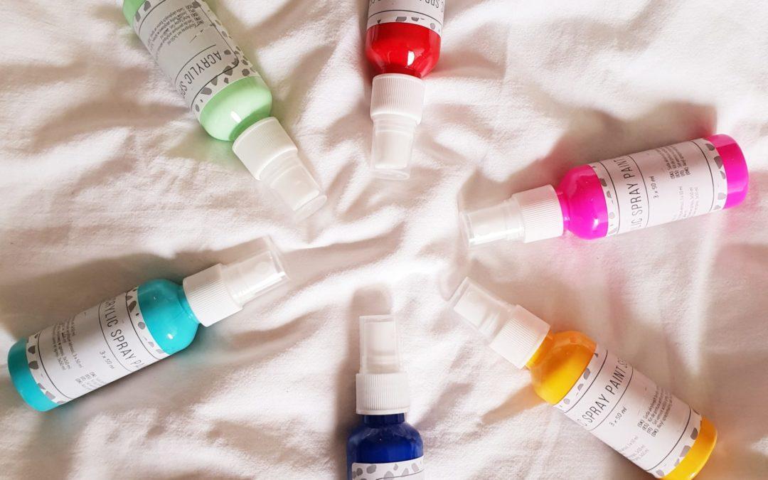 DIY: Art journal experiment met Action acryl spray paint