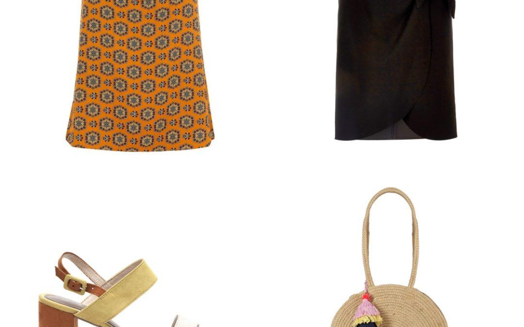 Plus Size Fashion Friday: River Island Plus overslag rok