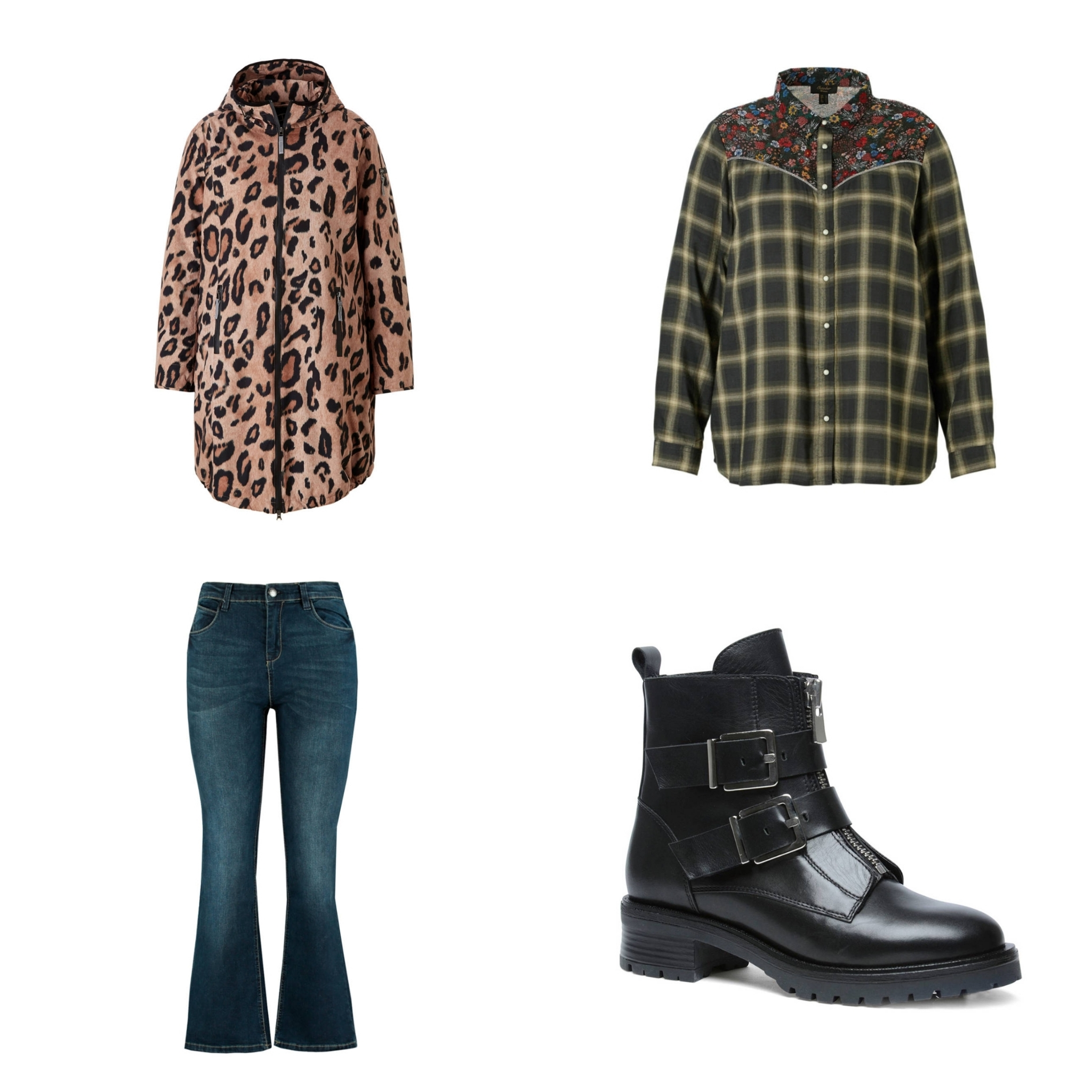 Winterjas Panterprint.Plus Size Fashion Friday Herfst Jassen Plus Een Beetje