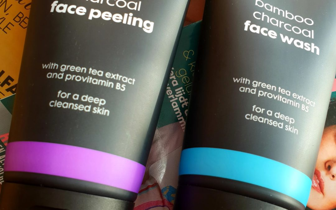 Review: HEMA Bamboo Charcoal Facewash en Peeling