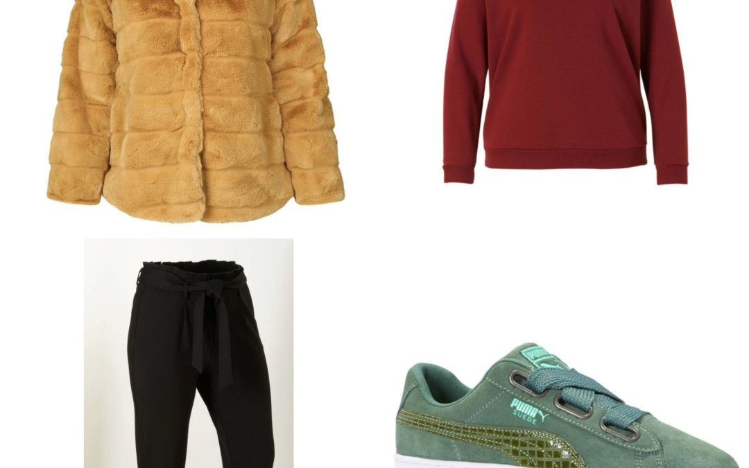 Plus Size Fashion Friday: Paperbag pants