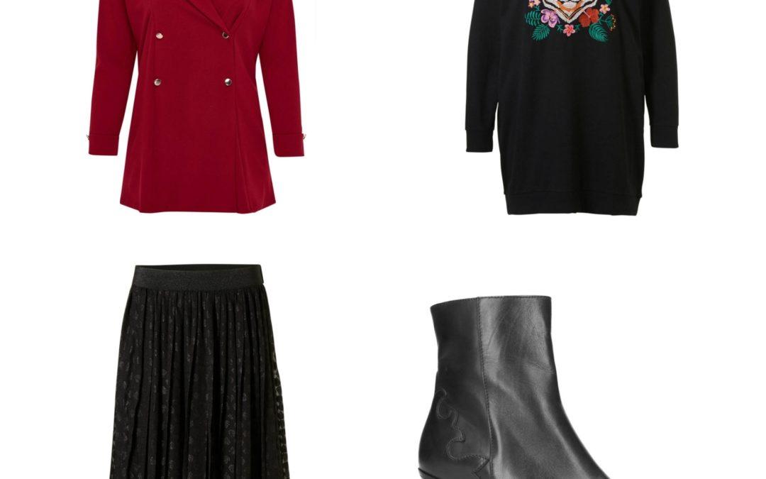 Plus Size Fashion Friday: Black Friday outfits