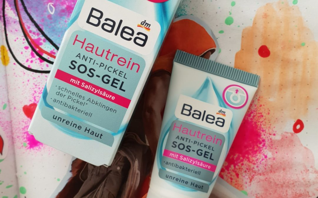 Skin care || Balea skin clean anti acne SOS gel
