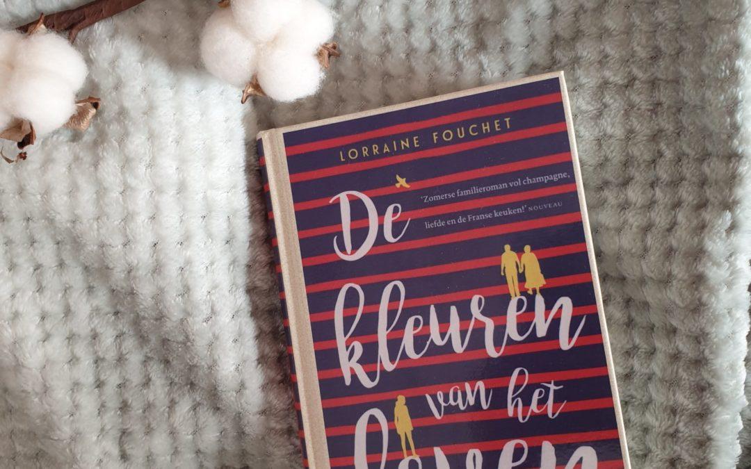 Book Thursday || De kleuren van het leven – Lorraine Fouchet