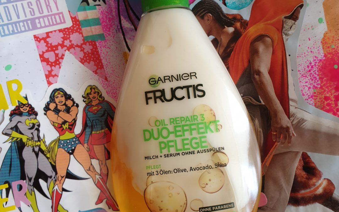 Beauty || Garnier Fructis Oil Repair 3 Duo effect leave in conditioner