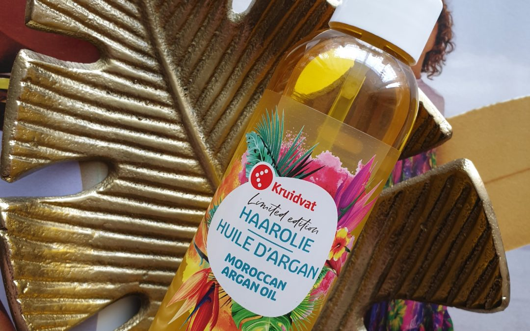 Beauty || Kruidvat limited edition Moroccan Argan Oil Haarolie