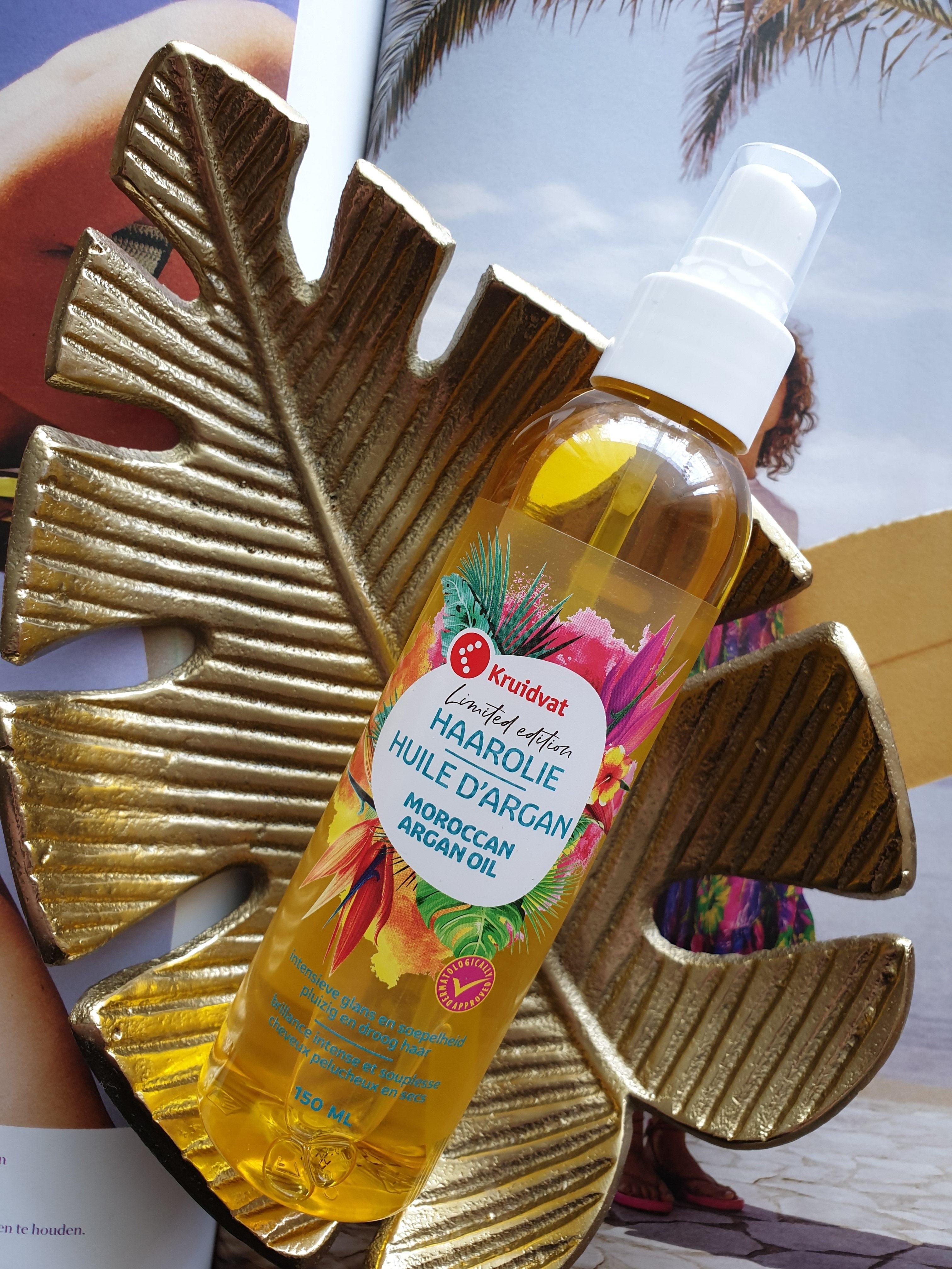 Beauty || Kruidvat limited edition Moroccan Argan Oil Haarolie