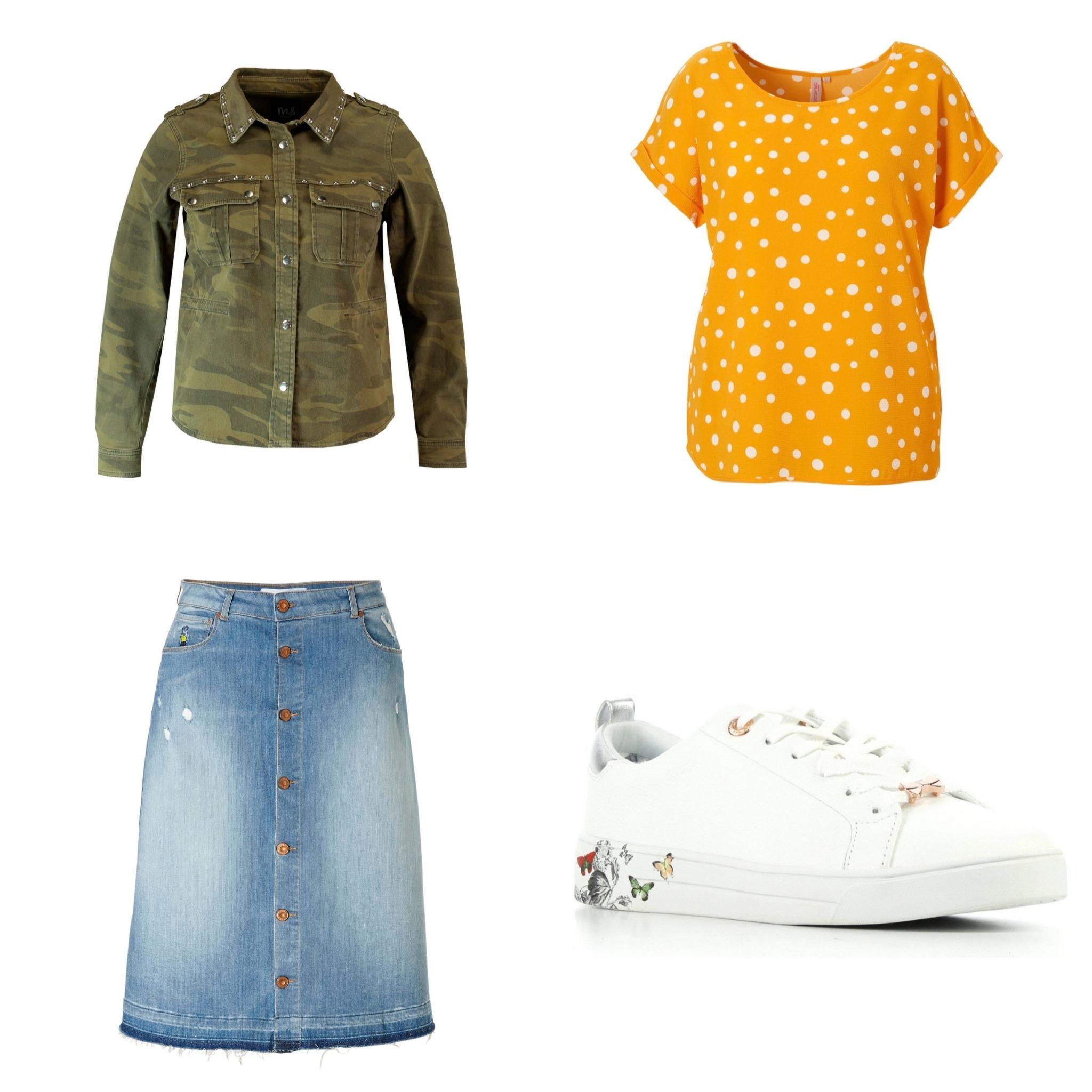 Plus Size Fashion Friday || Girls wear skirts