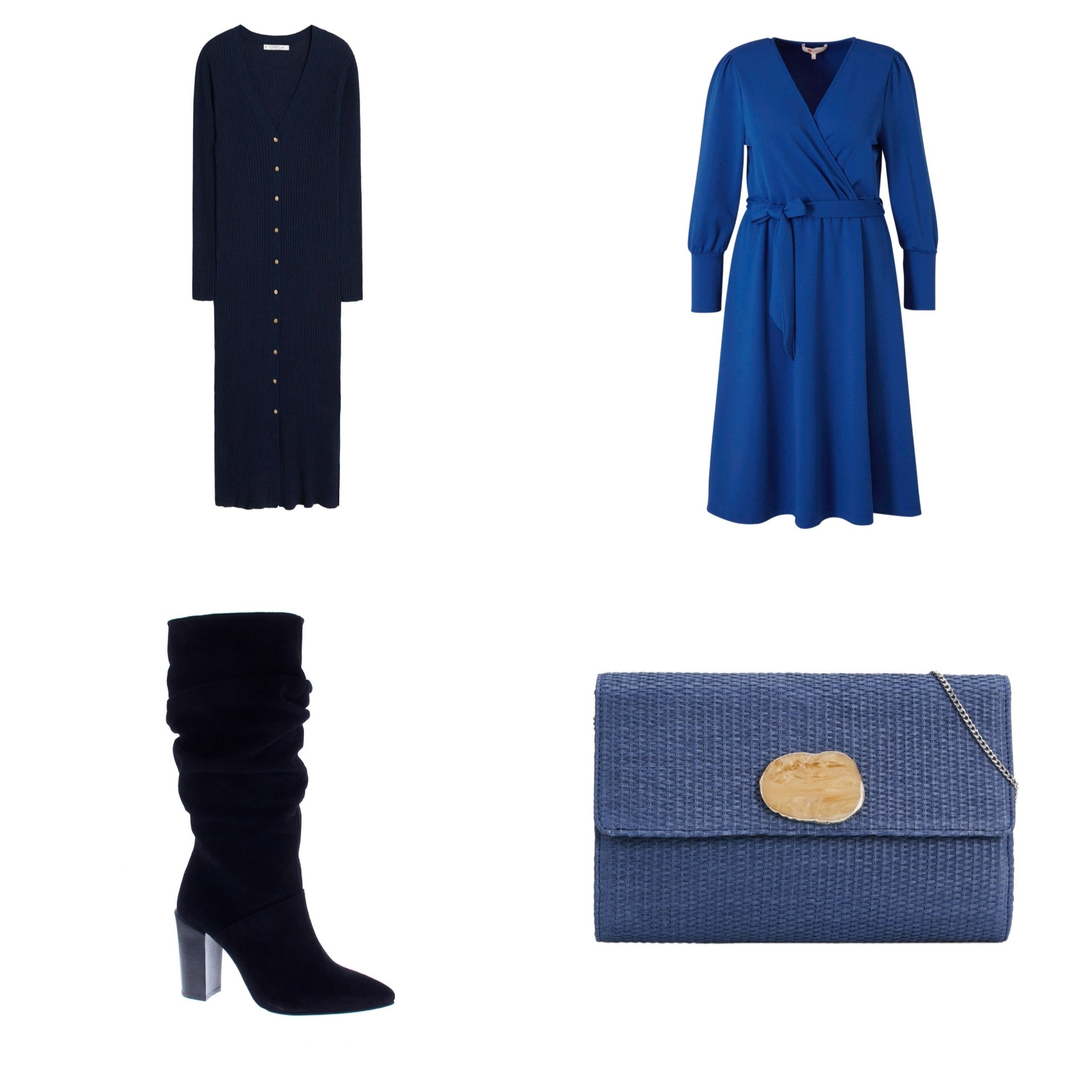 Plus Size Fashion Friday || It's a blue feeling