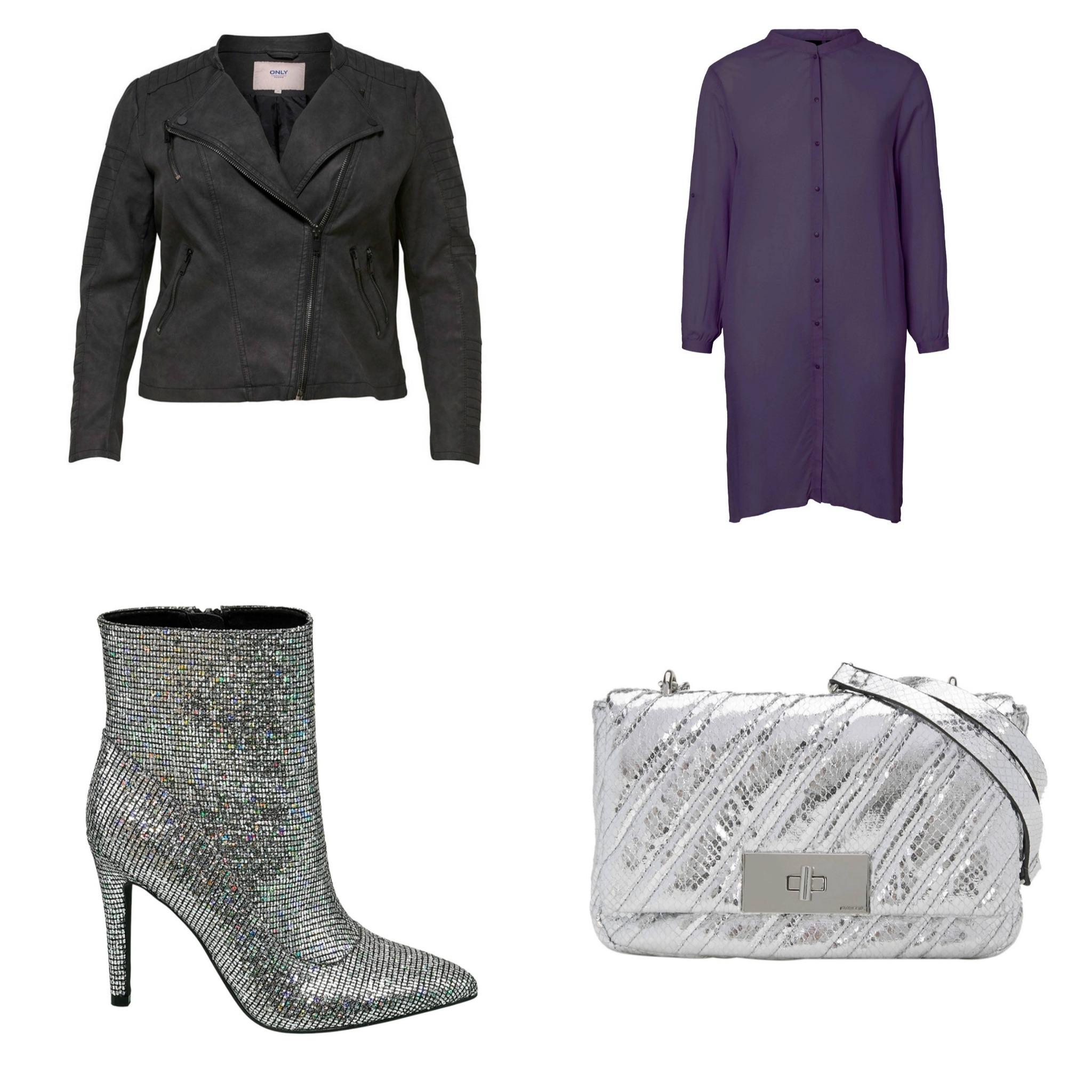 Plus Size Fashion Friday || Shine baby shine