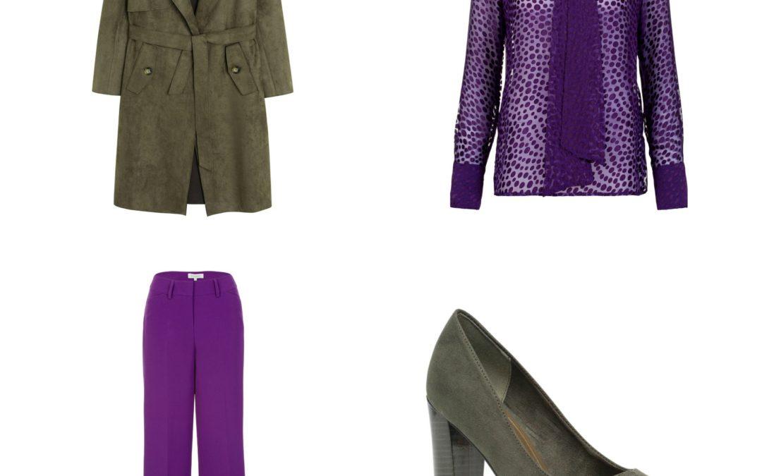 Plus Size Fashion Friday || Purple Rain