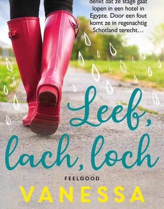 Books || Leef, lach, loch – Vanessa Gerrits