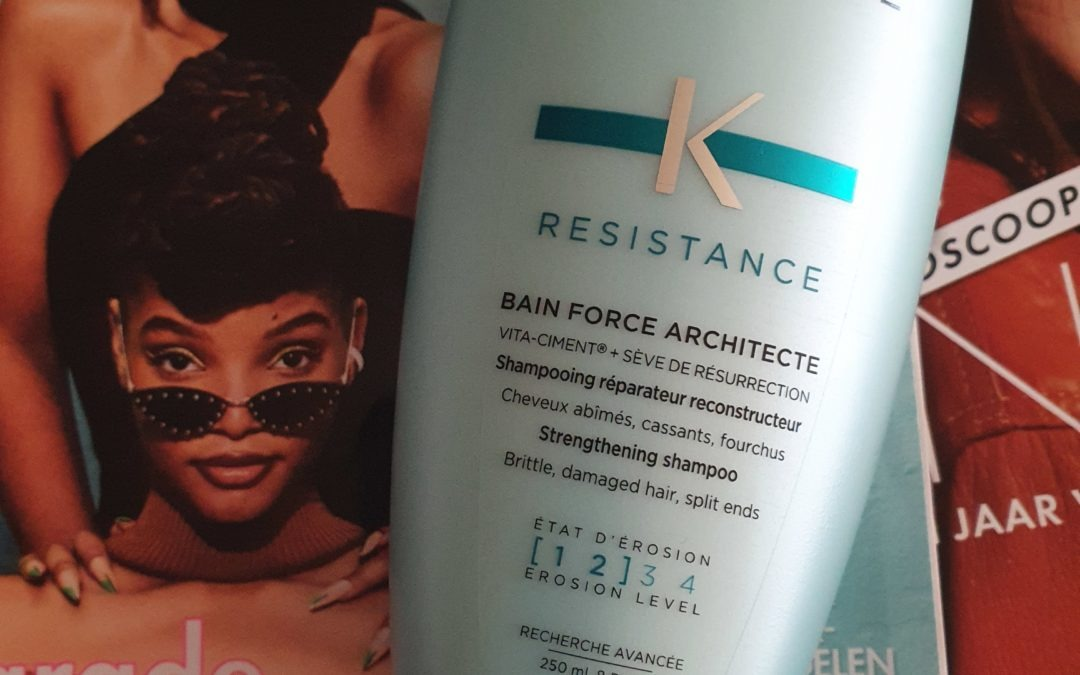 Beauty || Review Kerastase Resistance Bain Force Architecte Shampoo