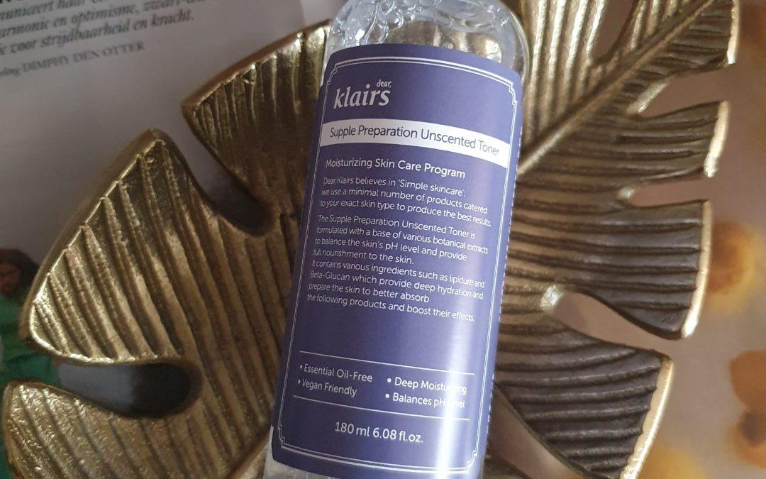 Beauty || KLAIRS Supple Preparation Unscented Toner
