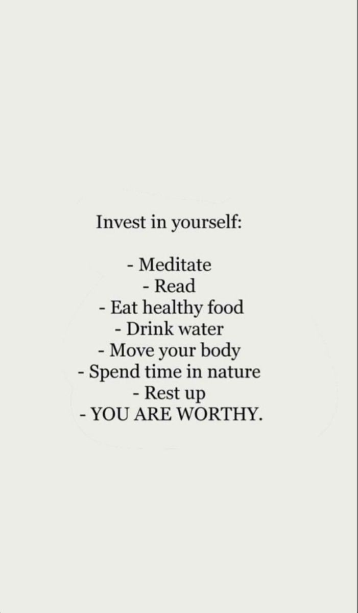 Always invest in yourself