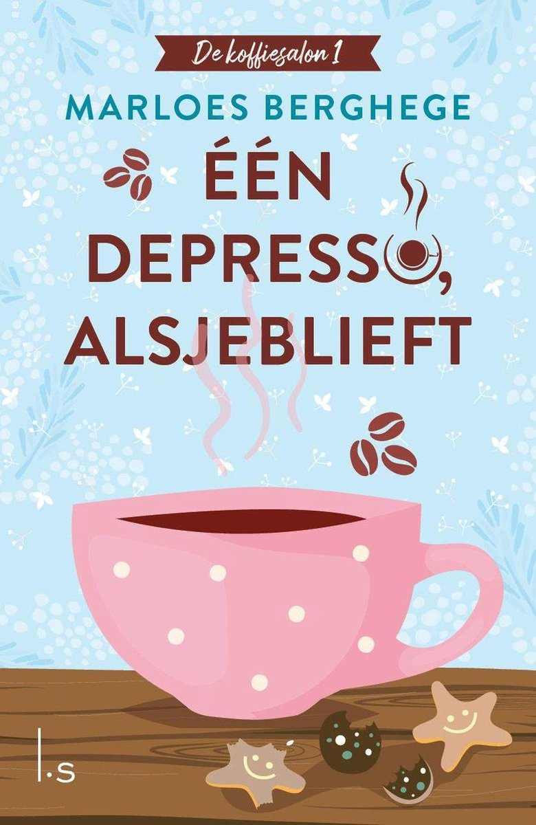 "Books    Feelgoodserie ""De koffiesalon"" – Marloes Berghege"